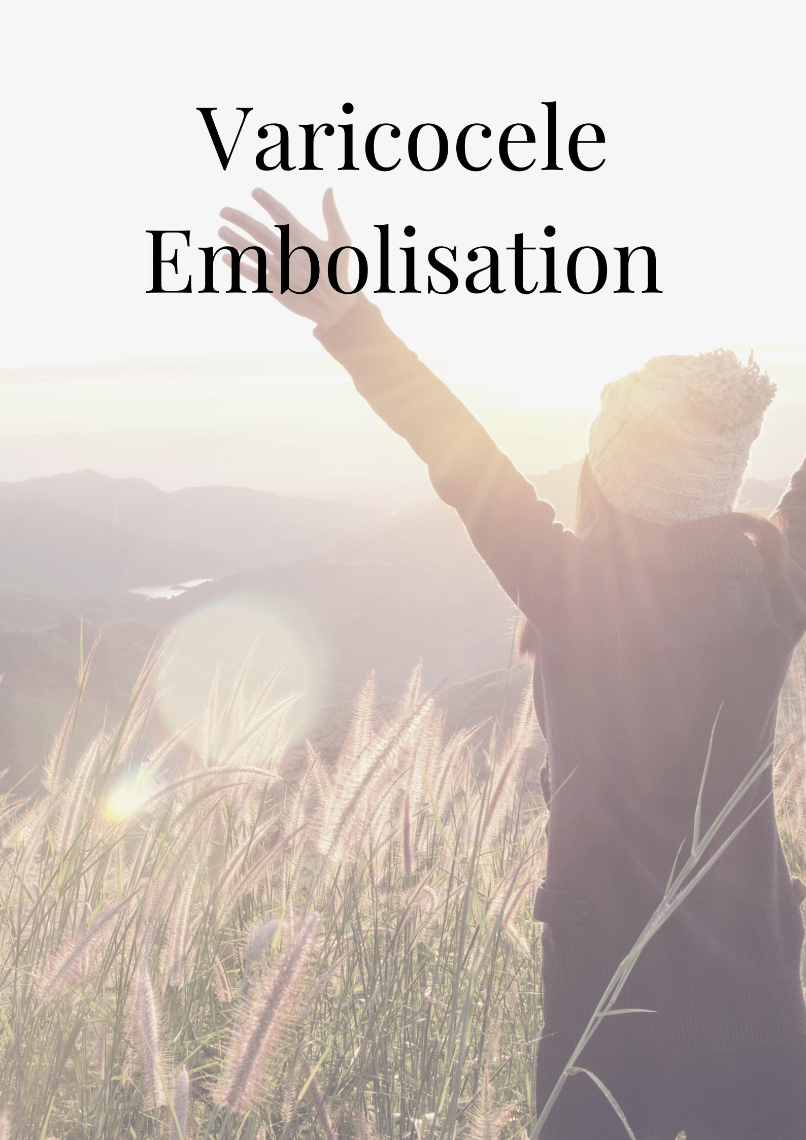 Varicocele Embolisation